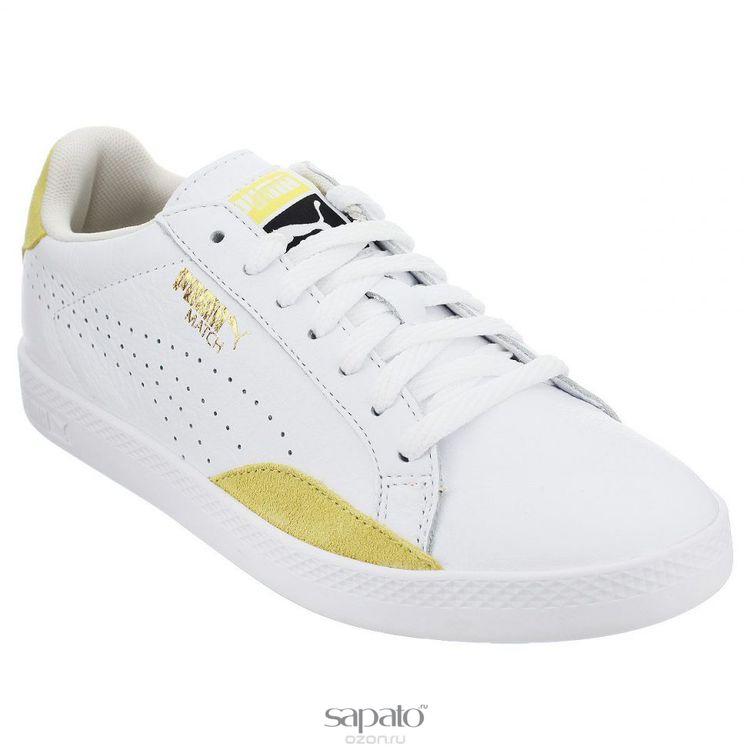 Кеды Puma Кеды женские Match Lo Basic Sports белые
