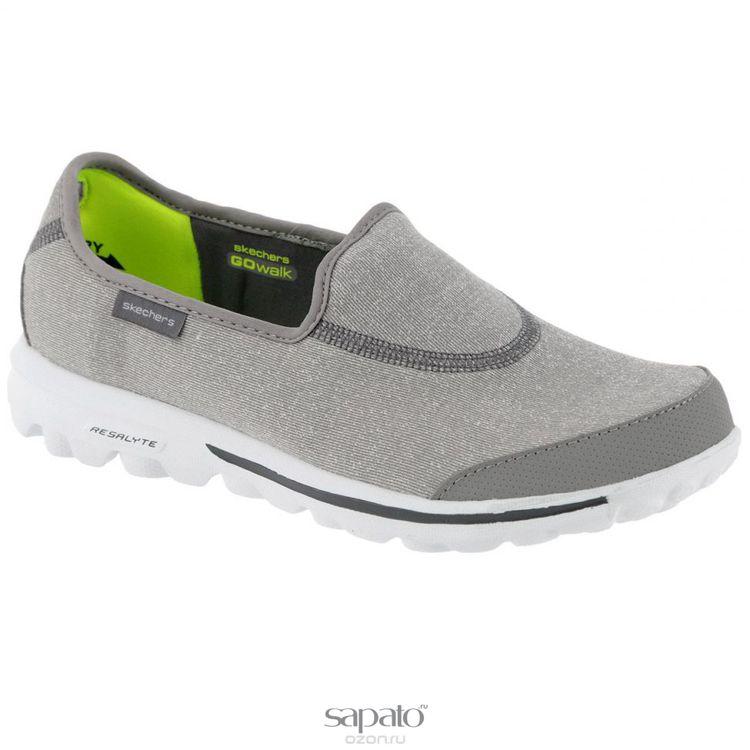 Кеды Skechers Кеды женские Go Walk Impress серые