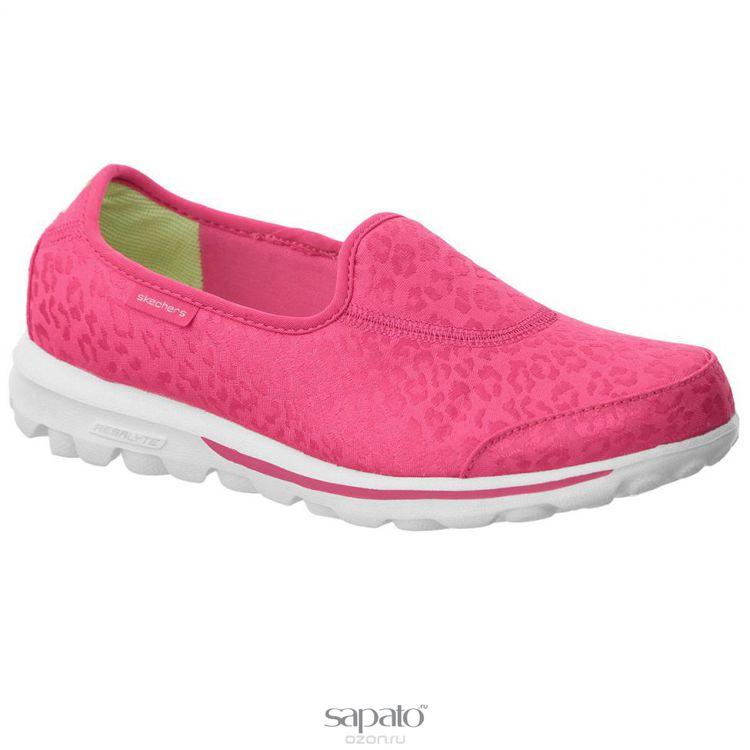 Кеды Skechers Кеды женские Go Walk Safari розовые