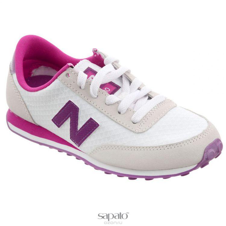 Кроссовки New Balance Кроссовки женские. UL410 фиолетовые