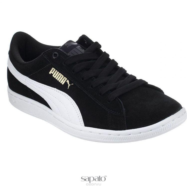 Кроссовки Puma Кроссовки женские Vikky чёрные