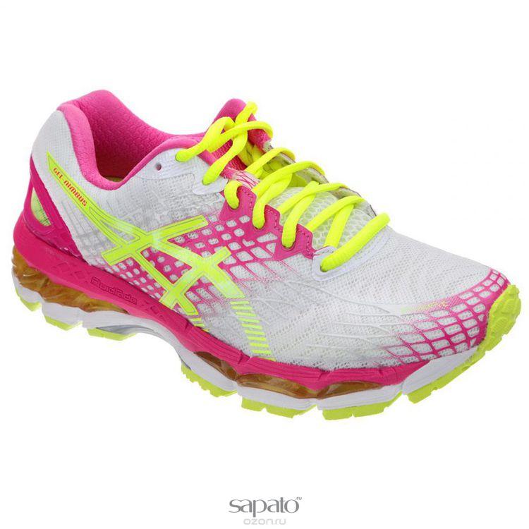 Кроссовки Asics Кроссовки женские для бега Gel-Nimbus 17 жёлтые