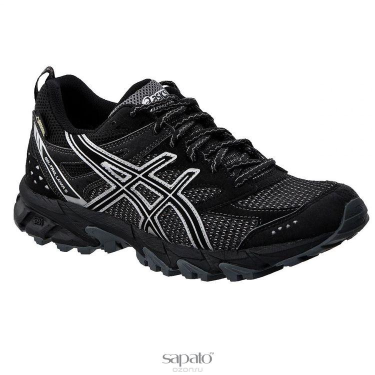 Кроссовки Asics Кроссовки женские для бега Gel-Trail Lahar 6 G-TX чёрные