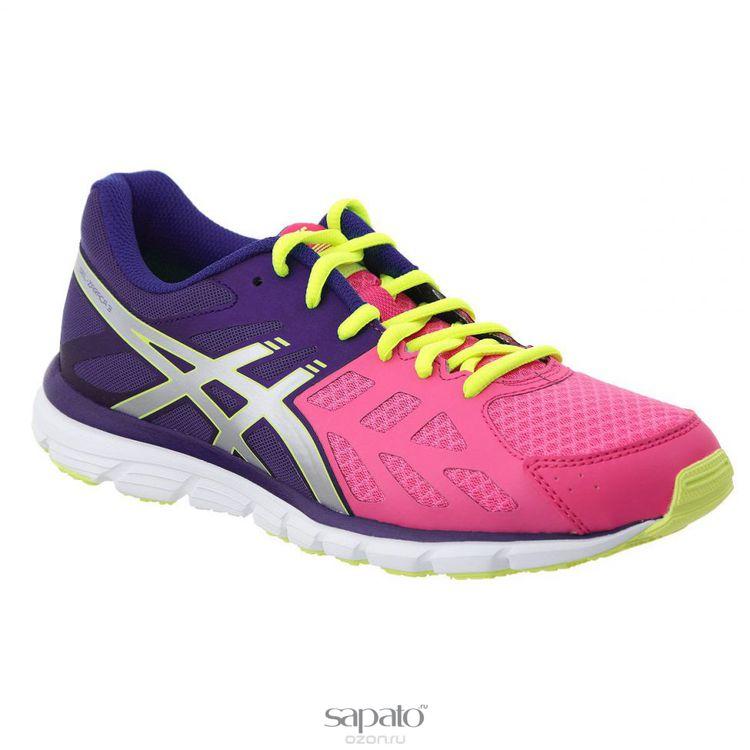 Кроссовки Asics Кроссовки женские для бега Gel-Zaraca 3 фиолетовые