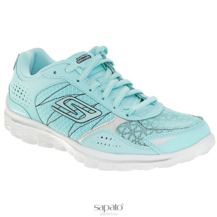 Кроссовки Skechers Кроссовки женские для бега Go Walk 2 Flash зеленые