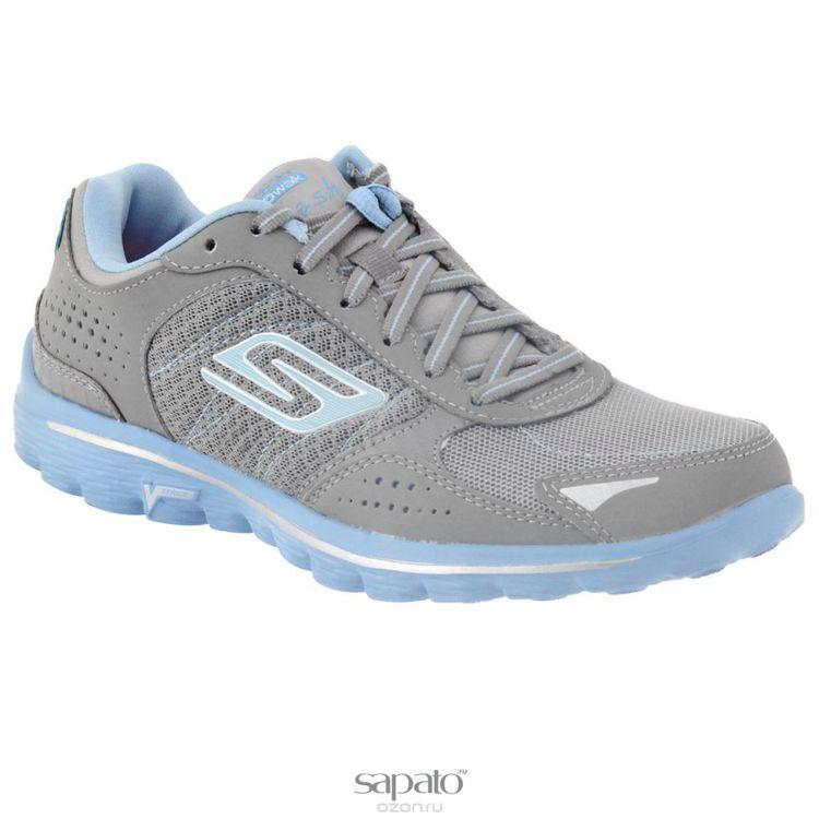 Кроссовки Skechers Кроссовки женские для бега Go Walk 2 Flash голубые