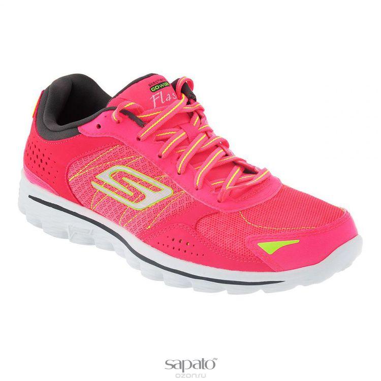 Кроссовки Skechers Кроссовки женские для бега Go Walk 2 Nite Owl 2.0 розовые