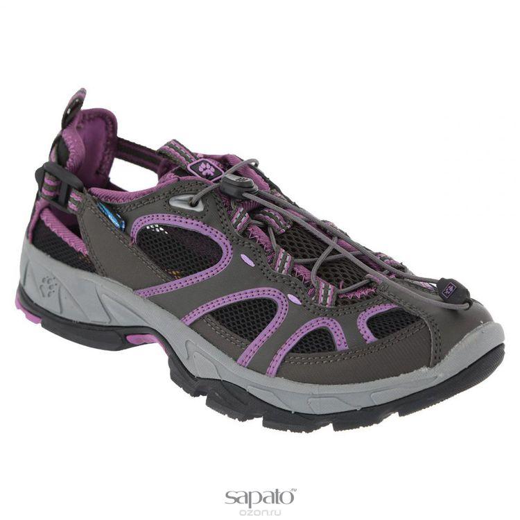 Кроссовки Jack Wolfskin Кроссовки женские треккинговые Canyon Rave. 4010111 фиолетовые
