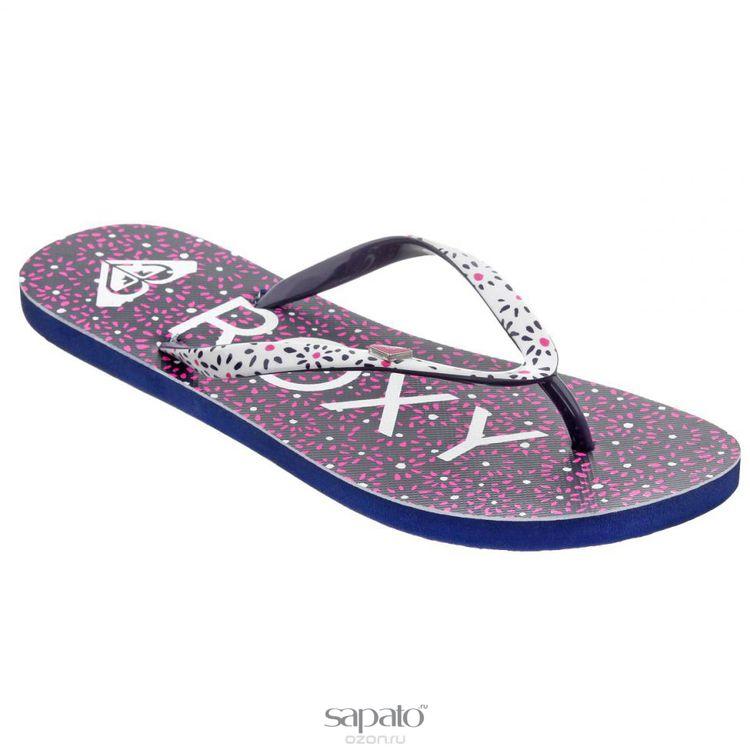 Сланцы Roxy Сланцы женские Mimosa. ARJL100129-NVW розовые