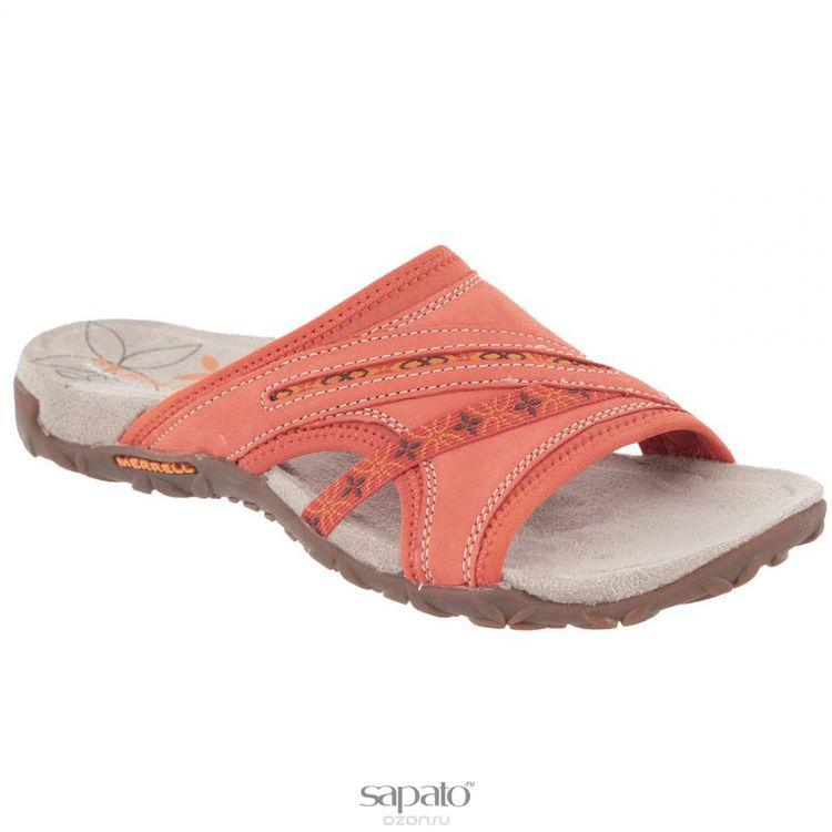 Шлепанцы Merrell Шлепанцы женские Terran Slide. 22178/21764 оранжевые