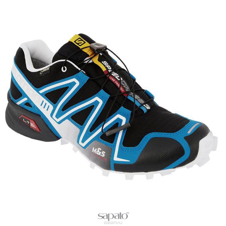 Кроссовки Salomon Кроссовки мужские для бега Speedcross 3 GTX голубые