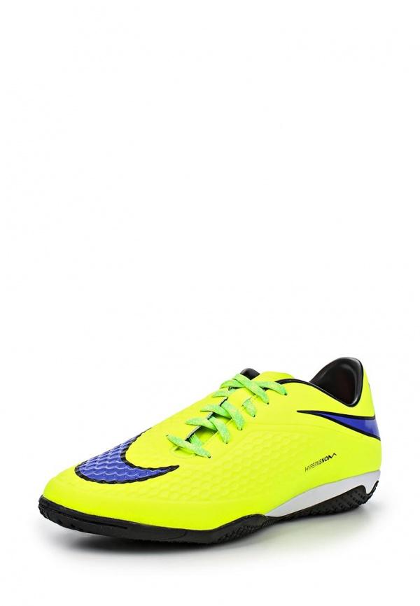 Бутсы зальные Nike 599849-758 жёлтые