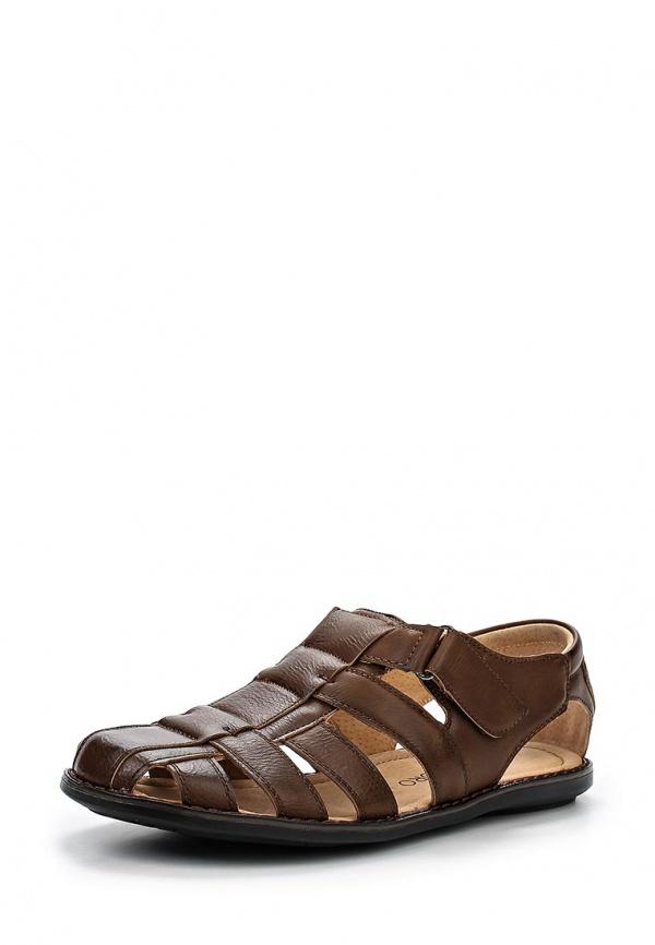 Сандалии Tesoro 157156/02-02 коричневые