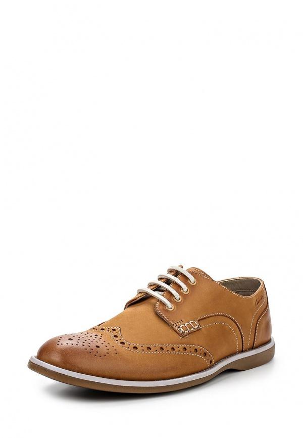 Туфли Clarks 26107967 коричневые