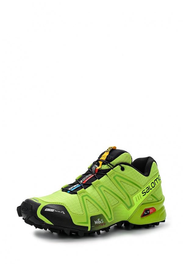 Кроссовки Salomon L37107900 зеленые