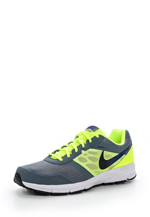 Кроссовки Nike 685139-403 зеленые, серые