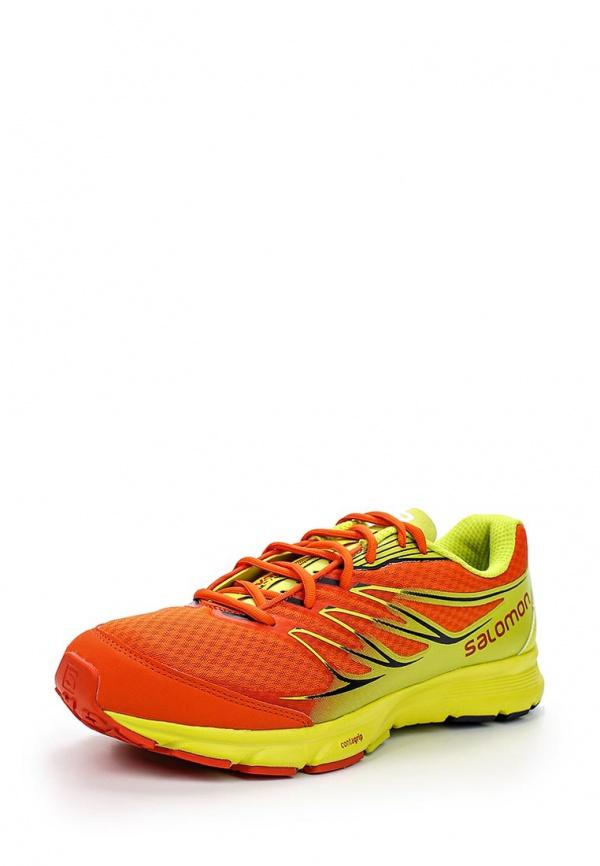 Кроссовки Salomon L37088800 жёлтые, оранжевые