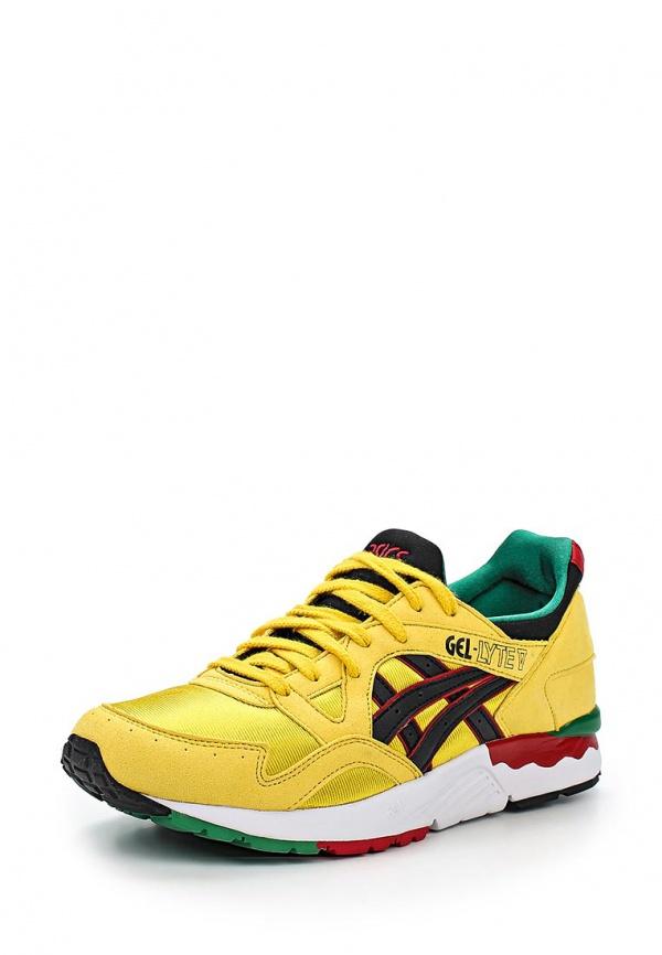 Кроссовки Asics H512Y жёлтые