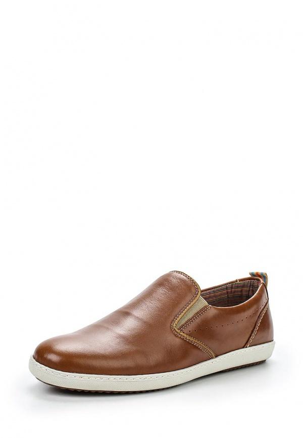 Слипоны Dali 276-1006-1-2 коричневые