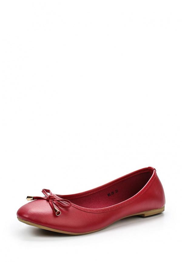 Балетки WS Shoes WL-26 красные