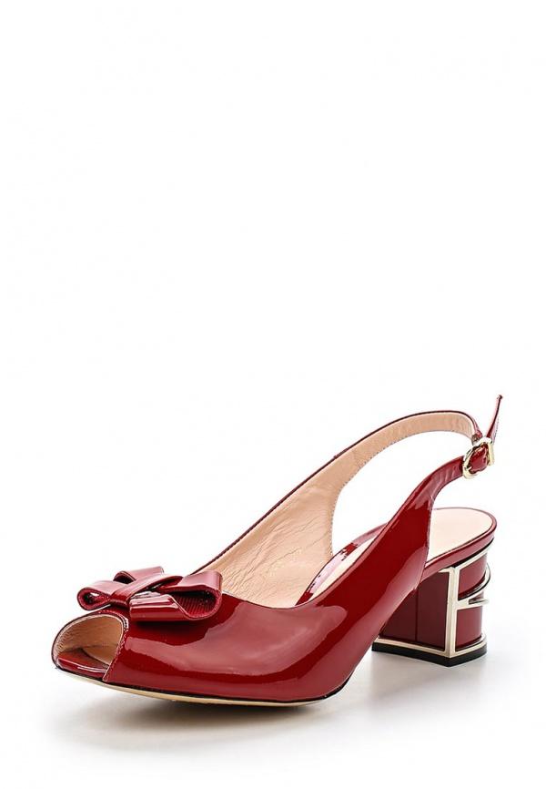 Туфли Ascalini R1545 красные