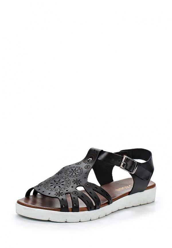 Туфли Ascalini R1847 чёрные