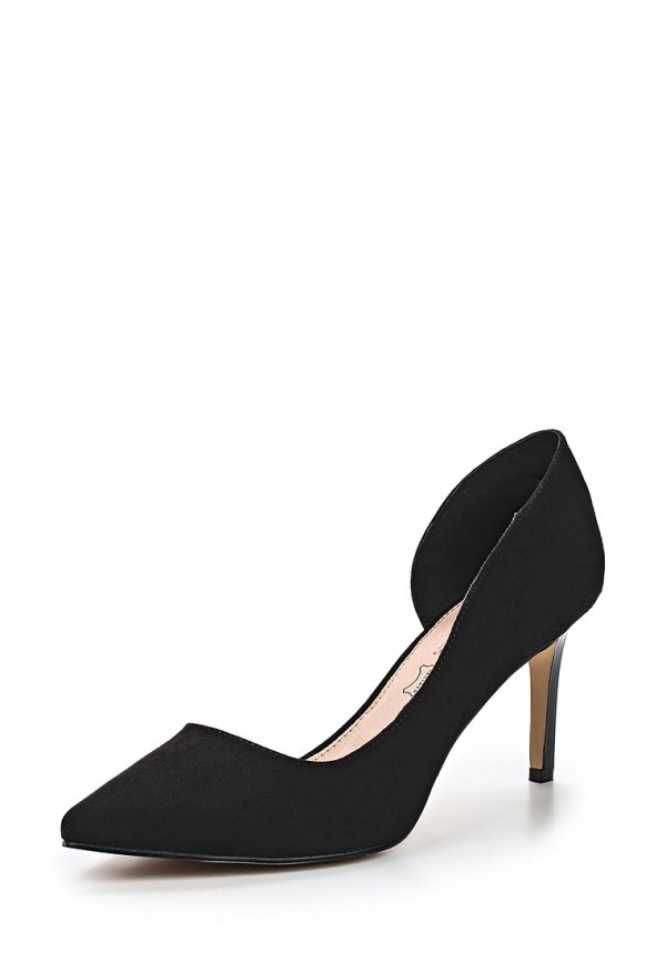 Туфли Buffalo London H733-25 чёрные
