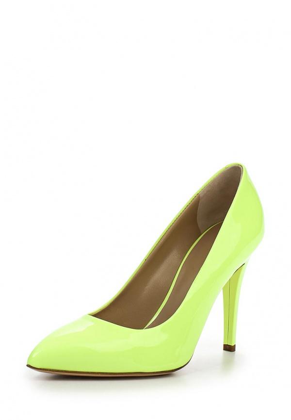 Туфли Vicini C5601 зеленые