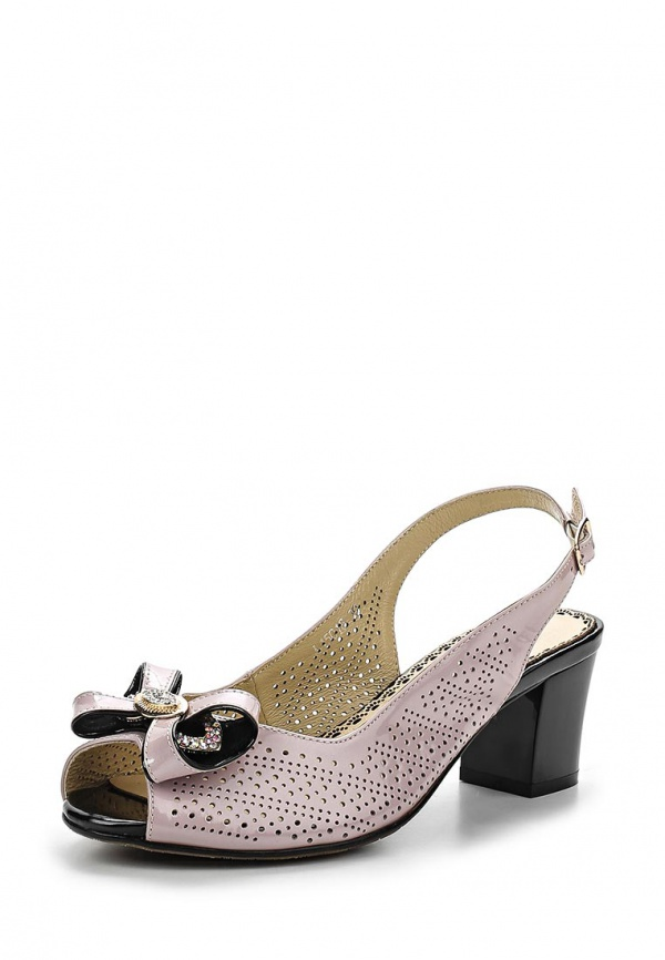 Туфли Ascalini L15018 розовые