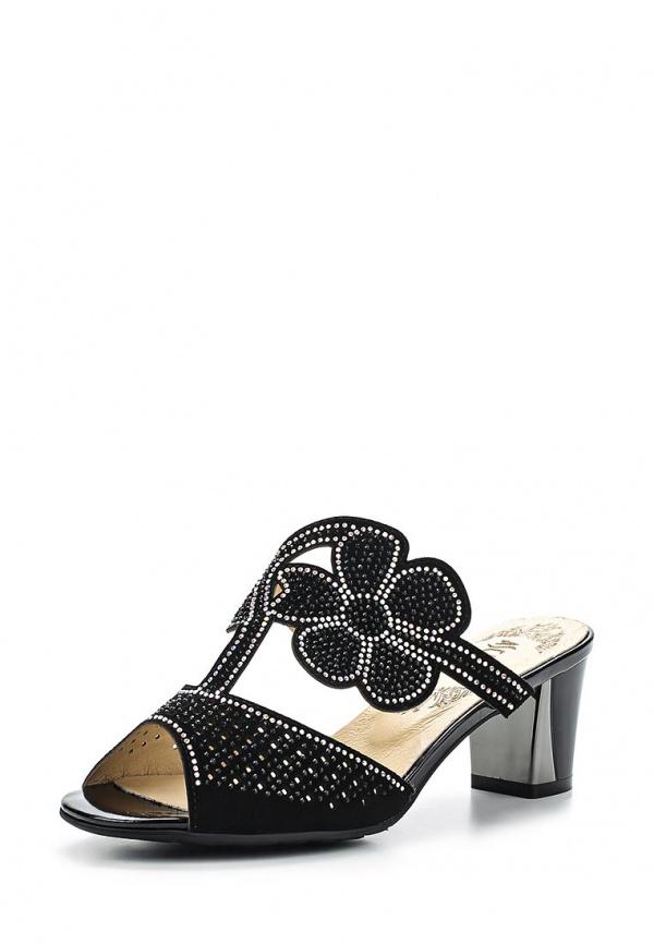 Туфли Ascalini L9454BF чёрные