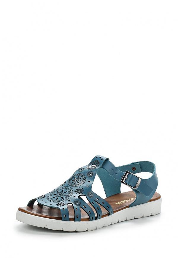 Туфли Ascalini R1846 голубые