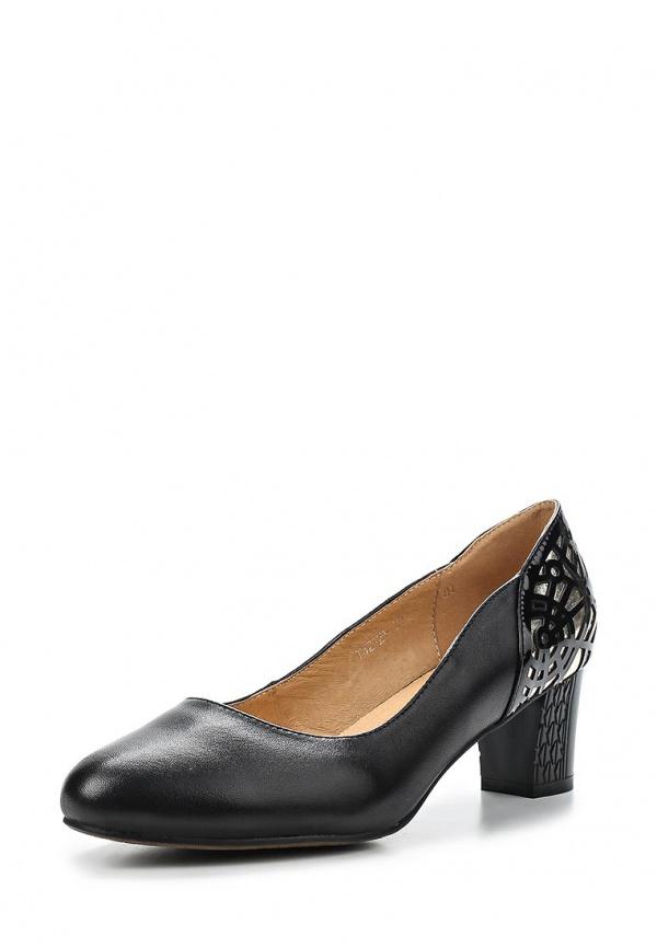 Туфли Ascalini T12926 чёрные