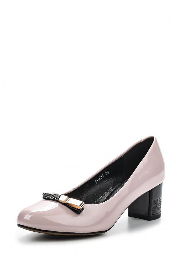 Туфли Ascalini T15635 фиолетовые