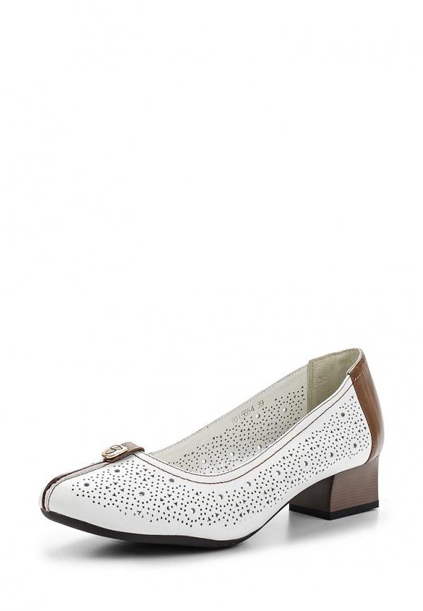 Туфли Ascalini TO15654 белые