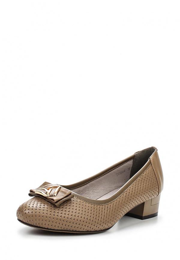 Туфли Ascalini T11844EK коричневые