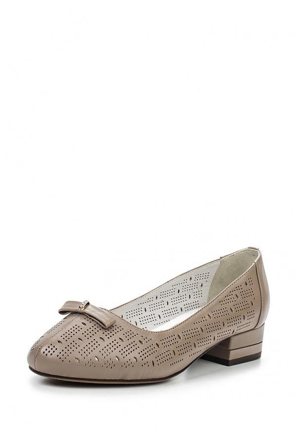 Туфли Ascalini T13399 серые