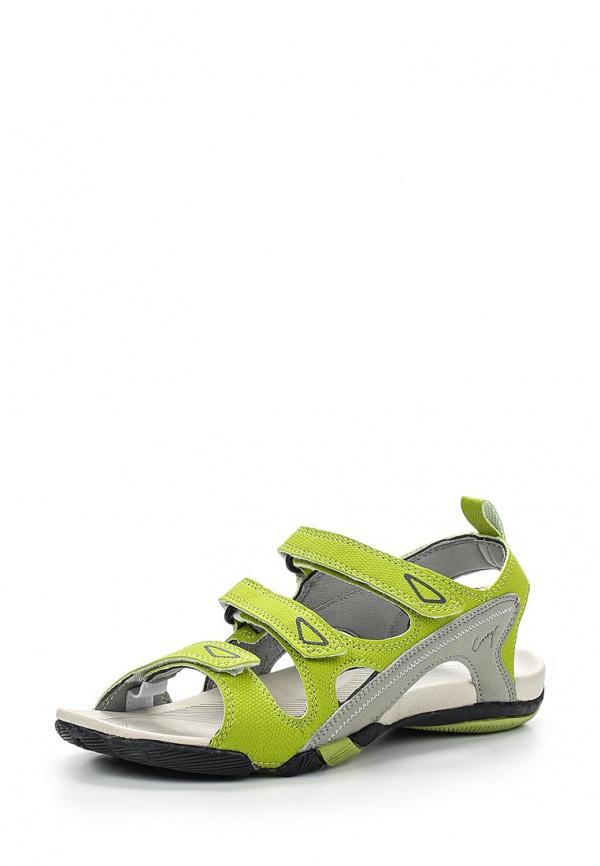Сандалии Crosby 257032/01-01-W зеленые