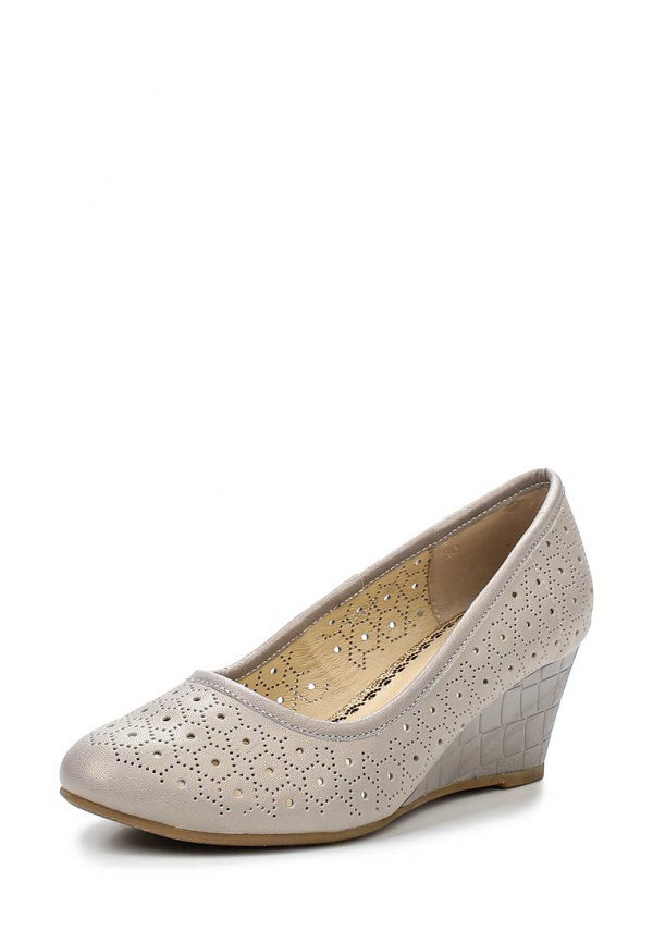 Туфли Ascalini TO16016 серые
