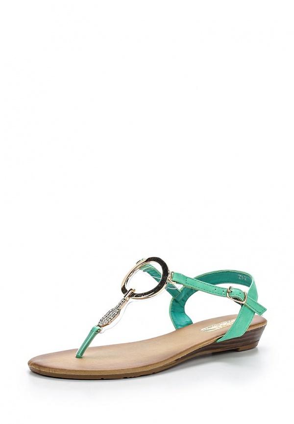 Сандалии WS Shoes ZY-2 зеленые