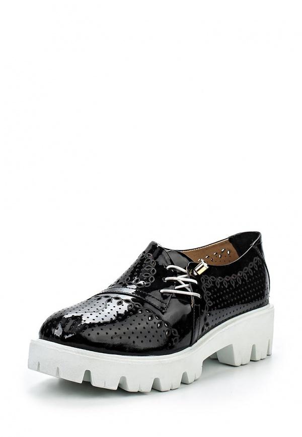 Ботинки Ascalini R1907 чёрные