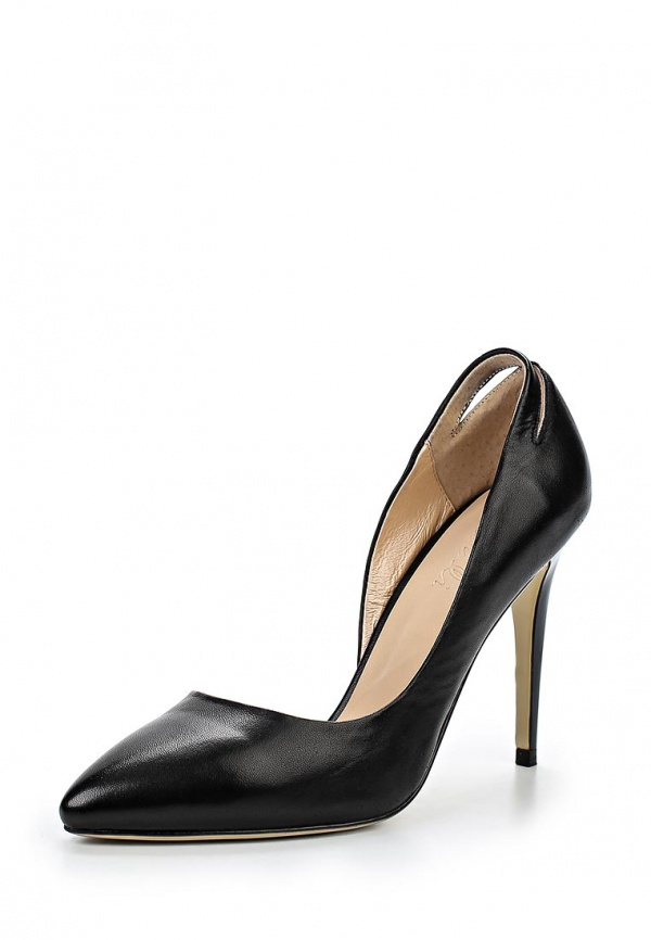Туфли Dali 167-702-1-1 чёрные