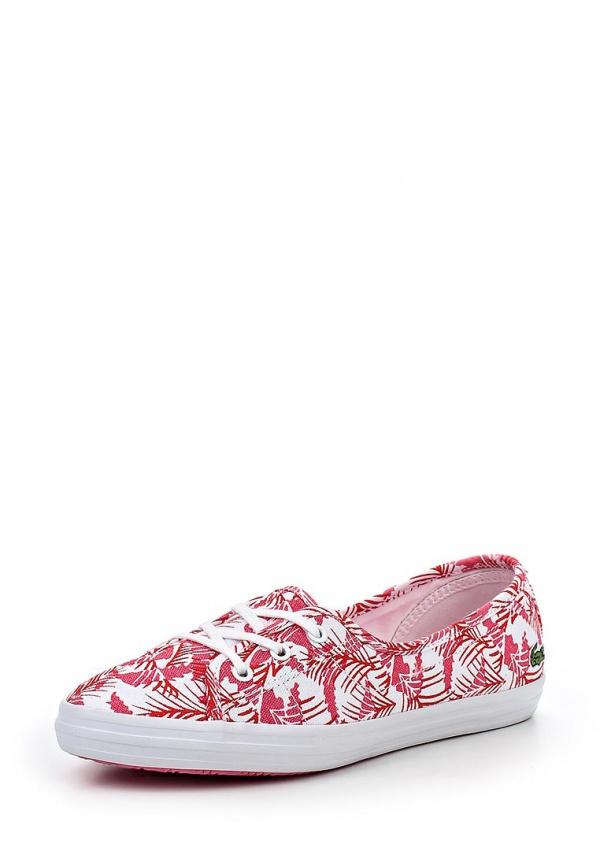 Кеды Lacoste SPW1026F50 белые, розовые