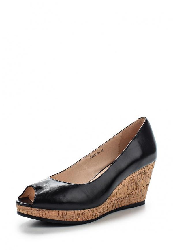 Туфли Provocante 50800-00 чёрные