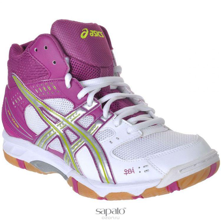 Кроссовки Asics Кроссовки женские для волейбола Gel-Task MT фиолетовые
