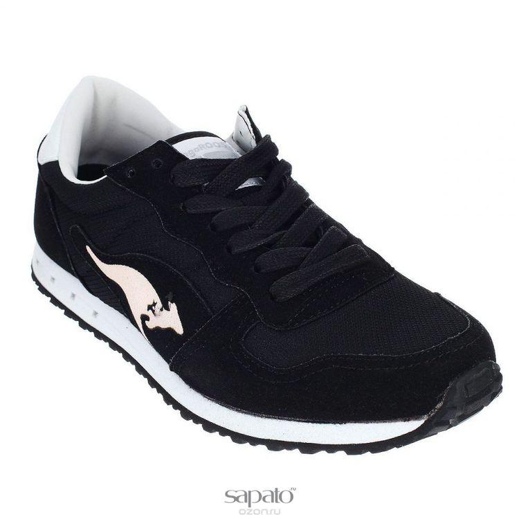 Кроссовки KangaRoos Кроссовки женские Blaze III. 47136 чёрные