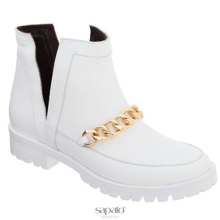 Ботинки Grand Style Ботинки женские. D15KB-0226 белые
