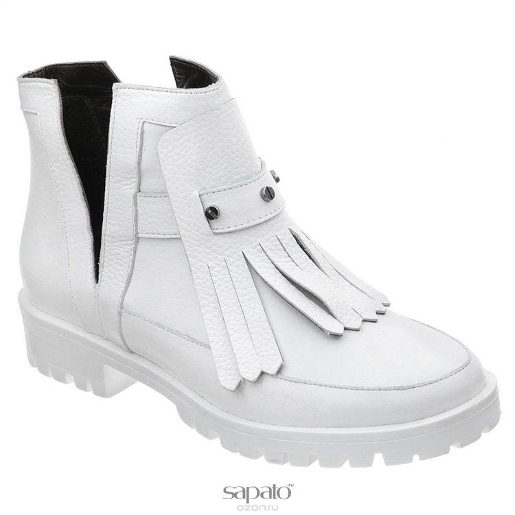 Ботинки Grand Style Ботинки женские. D15KB-0227 белые