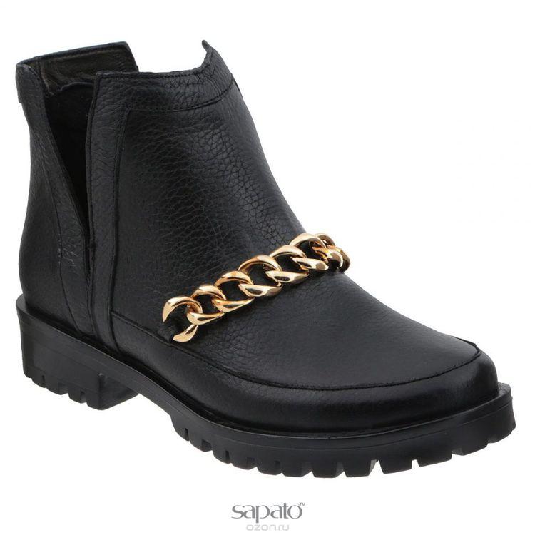 Ботинки Grand Style Ботинки женские. D15KB-0226 чёрные