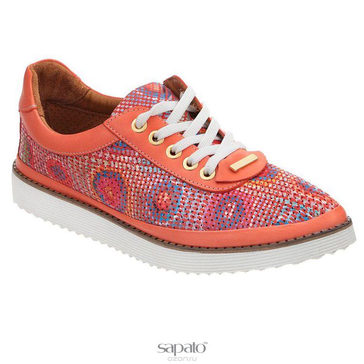 Полуботинки Grand Style Полуботинки женские. D15YA-0216-017 оранжевые