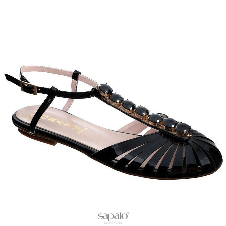 Сандалии Grand Style Сандалии женские. 2603-16 чёрные